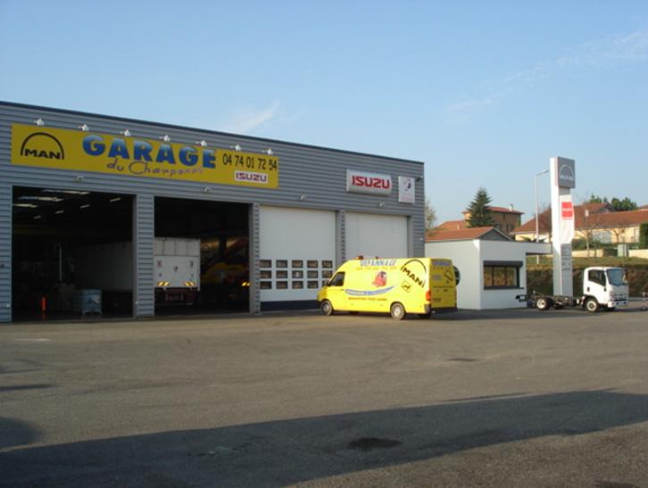 garage du charpenay d pannage camion rhone garage isuzu 69